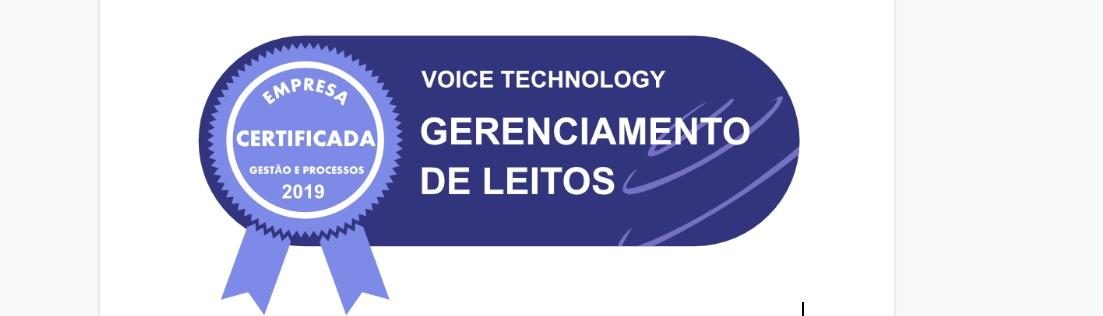 selo certificada voice